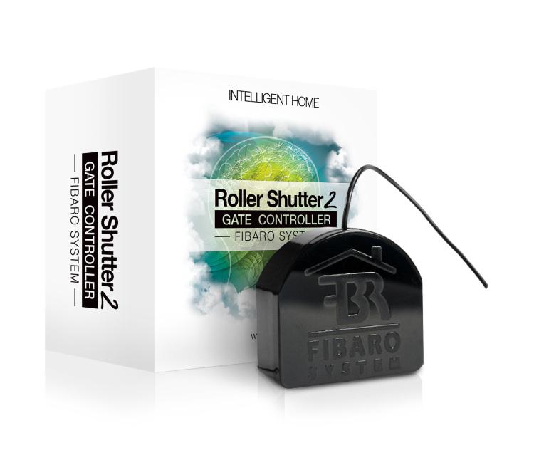 Модуль управления воротами и жалюзи FIBARO Roller Shutter 2