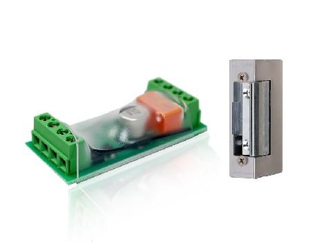 Комплект из реле и личинки для управления электромеханическим замком