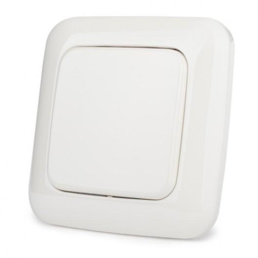 Настенный одноклавишный выключатель на батарейках Z-Wave.Me Single Paddle Wall Controller (белый)