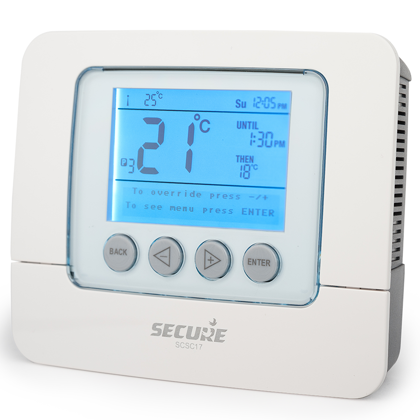 Настенный семидневный термостат SCS C17