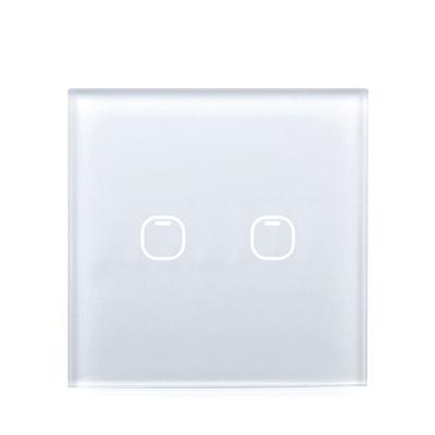 Выключатель TOUCHHOUSE «Cube» сенсорный белый