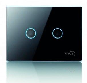 Сенсорный двухканальный выключатель Vitrum II RU