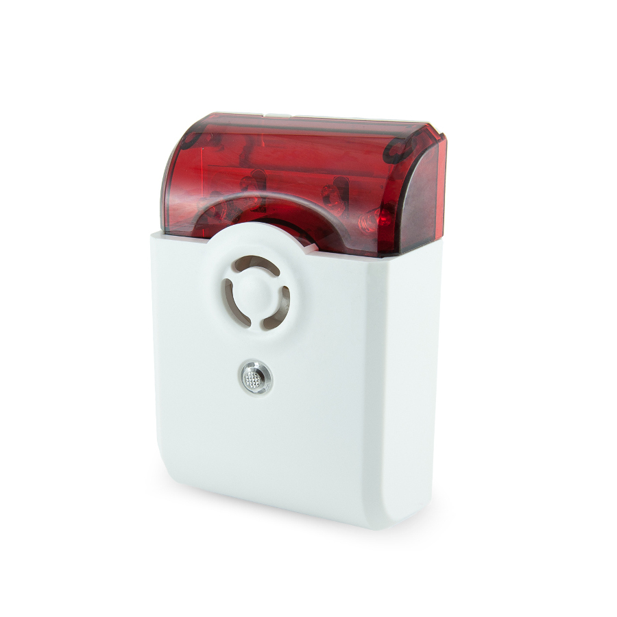 Сирена на батарейках со световым и звуковым оповещением Vision Security Wireless Siren