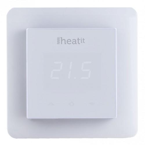 Термостат теплого пола Heatit (белый)