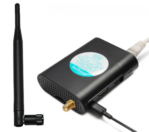 Контроллер умного дома RaZberry с антенной
