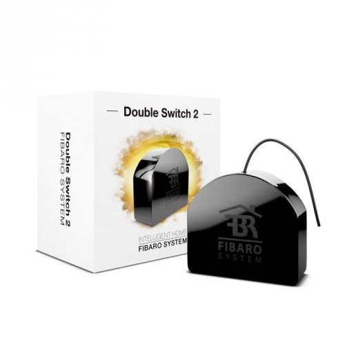 Реле FIBARO Double Switch 2×1.5kW