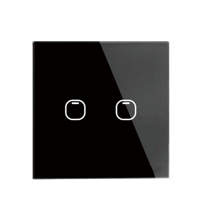 Выключатель TOUCHHOUSE «Cube» сенсорный черный