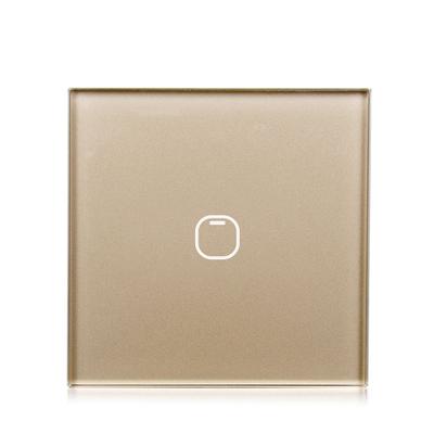 Выключатель TOUCHHOUSE «Cube» сенсорный золото