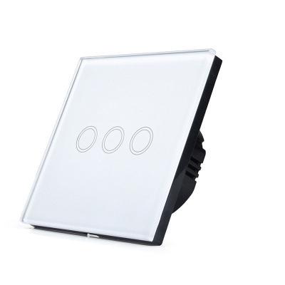 Выключатель TOUCHHOUSE «Loft» сенсорный белый