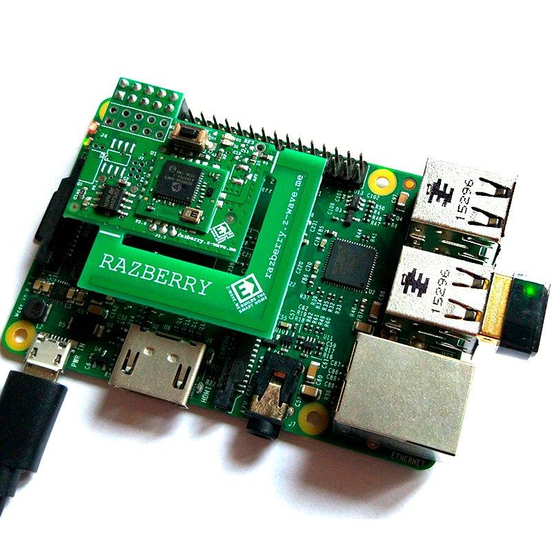 Плата расширения Z-Wave Me RaZberry 2 для Raspberry Pi